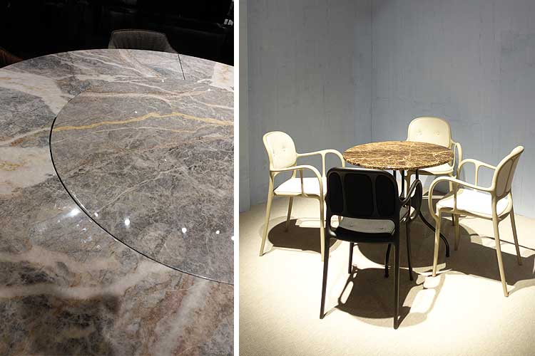 Muebles en piedra y mármol