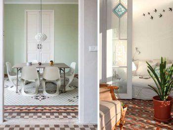 Mosaico Nolla de estilo modernista