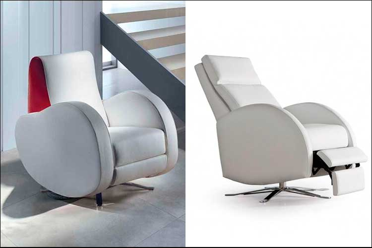 Sillones relax con base