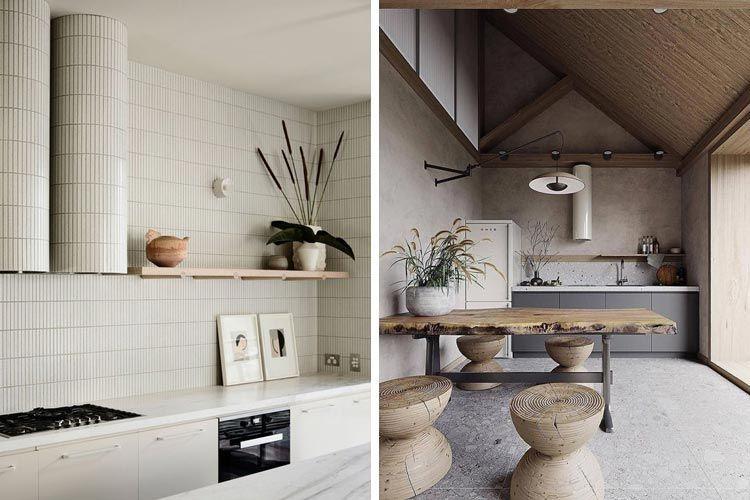 Cocinas con campanas de diseño