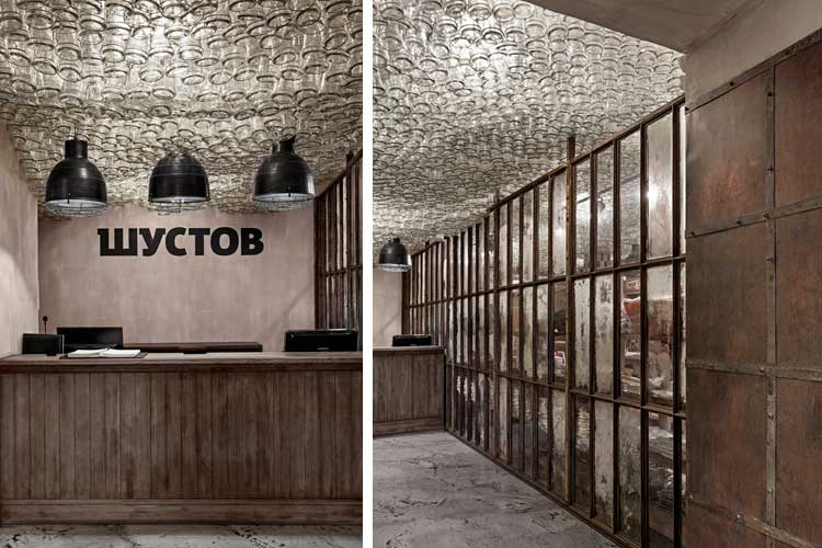 Asılı nesnelerle tavan dekorasyonu