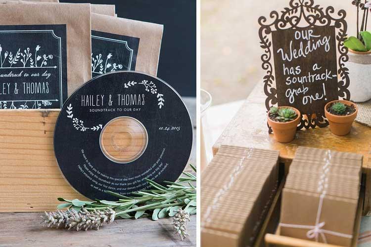 Decoración de bodas - regalitos