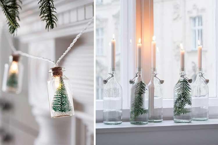Decoración navideña sencilla