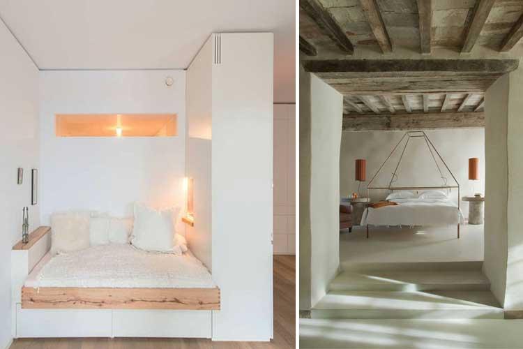 Dormitorios abiertos al salón