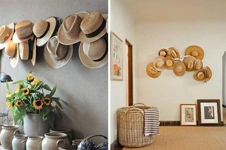 Ideas de decoración con sombreros