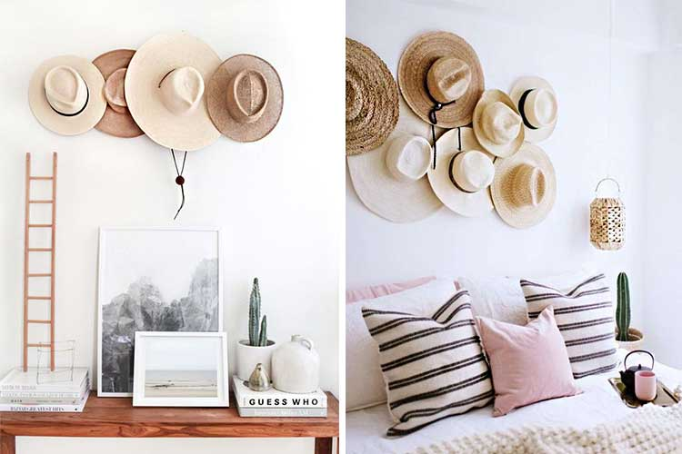 Decorar con sombreros