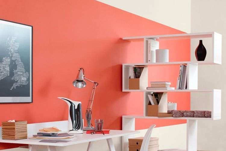 pared color Living Coral