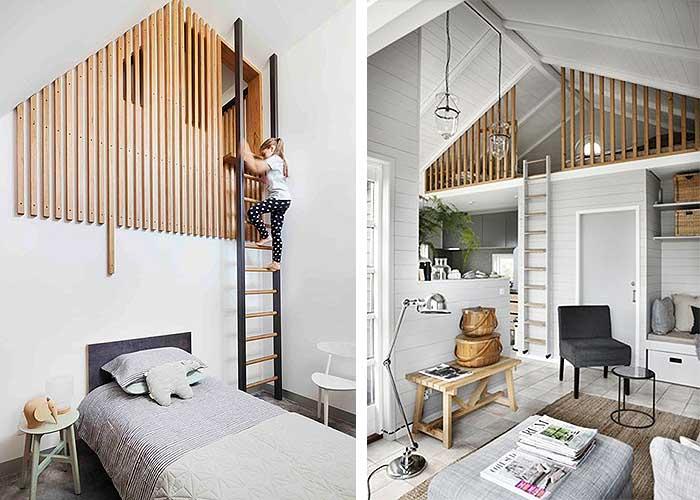 Tipos de estancias en altillos