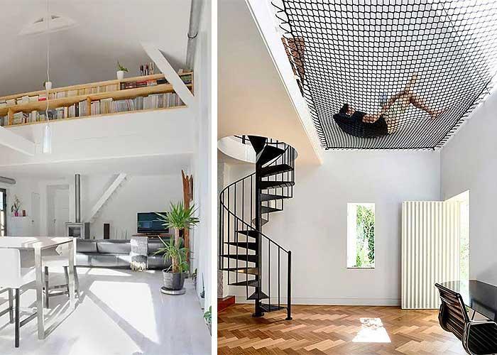 Escaleras para altillos