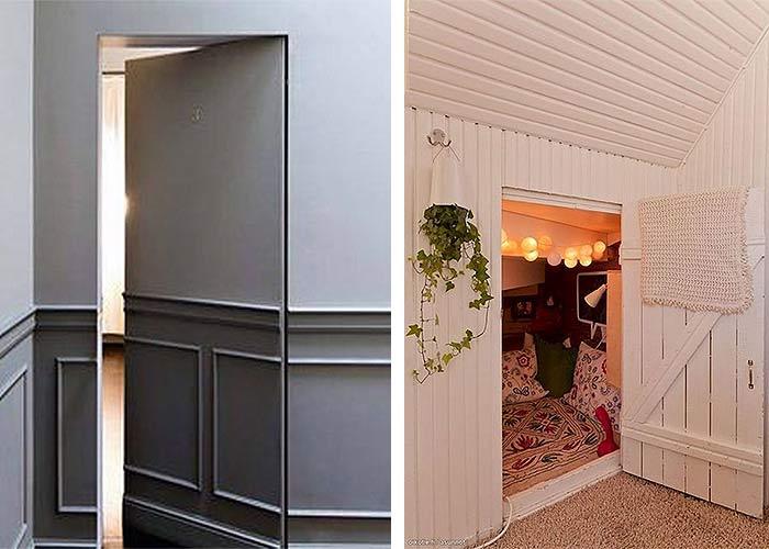 habitaciones escondidas