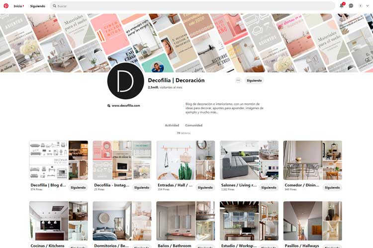 Pinterest Decofilia