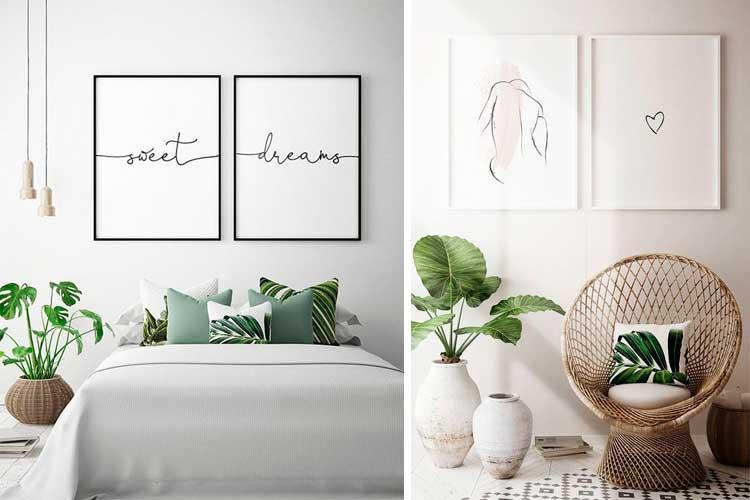 Cómo decorar con pósters