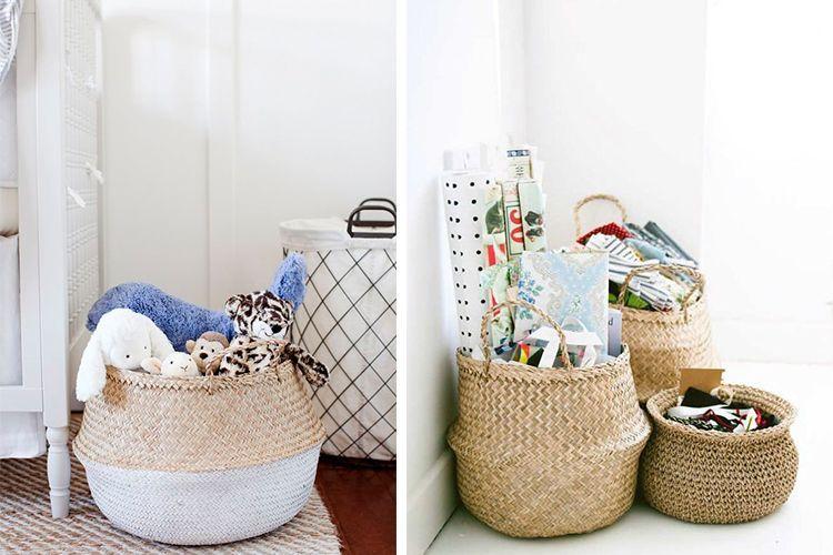Cestos y canastos para almacenaje