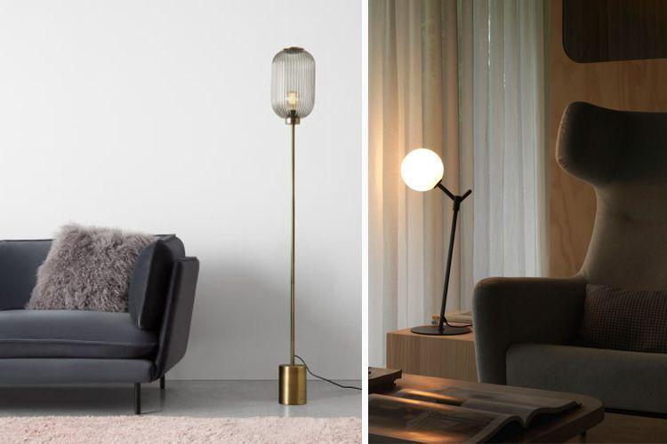 Lámparas de pie Mid Century