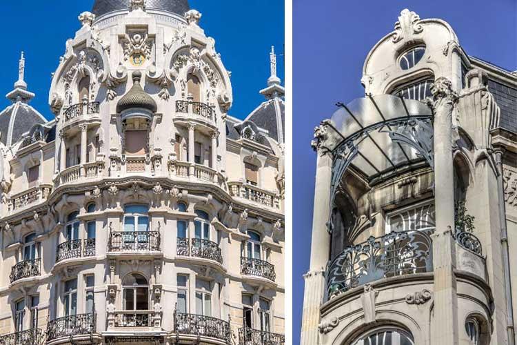 edificio señorial art nouveau