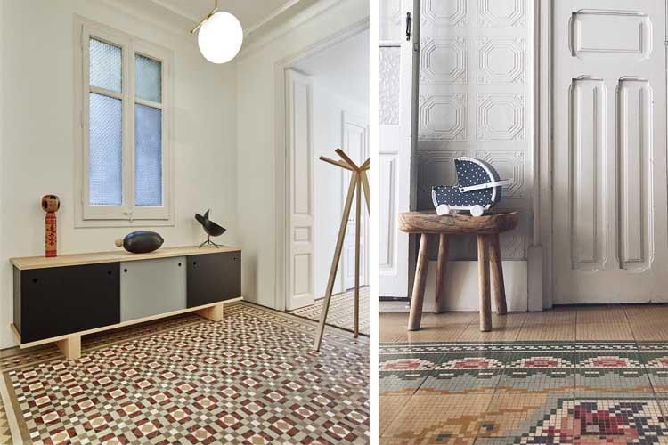 suelo art nouveau