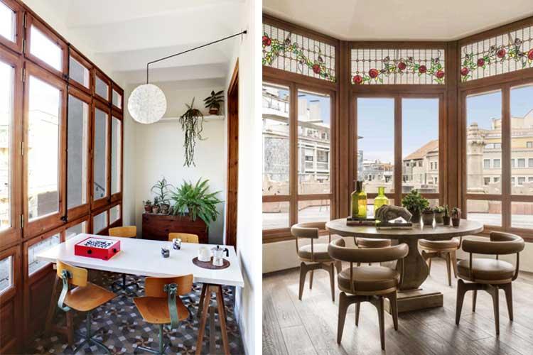 ventanales art nouveau