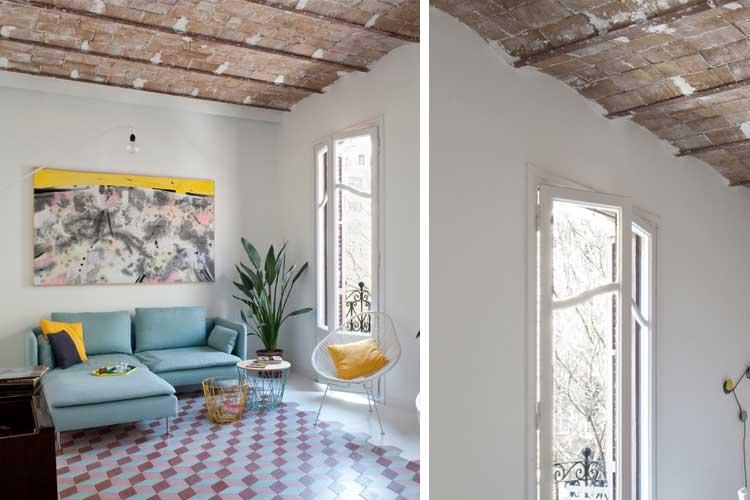 techos con nuevos materiales del art nouveau