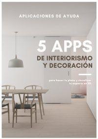 Guía 5 aplicaciones de interiorismo y decoración